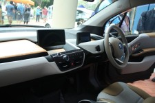 From inside a BMW i3.