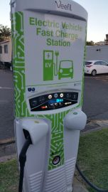 Leading Brisbane company Tritium supplied this fast charger to the University of Qld.